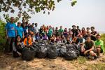 162 kilos of waste turned into art by Sarawak Eco-Warriors and students of SMK Sematan