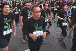 "Over 2,200 ""Run for the Wild"" in Malaysia"