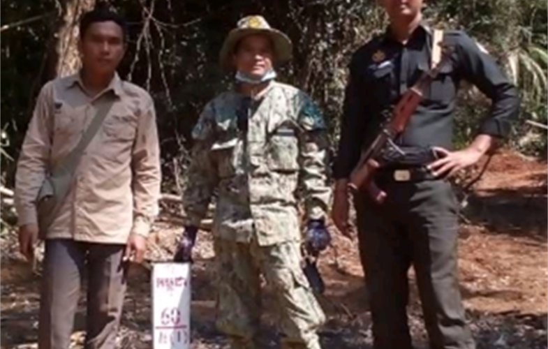 cambodian rangers group shot